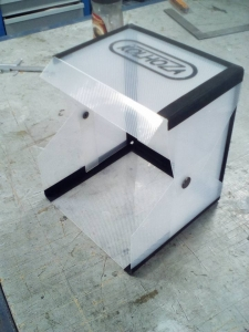 """Защитый кожух """"Автобусная остановка"""" для обработки резины - KZA029"""